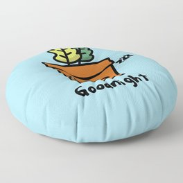 Potty Plant Series - Goodnight Floor Pillow