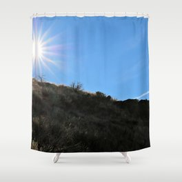 Mountainside for the Sun Shower Curtain