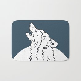 Pra Loup Howling Wolf Bath Mat