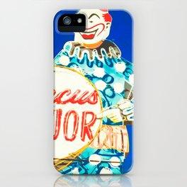 Circus Liquor - Burbank, CA iPhone Case