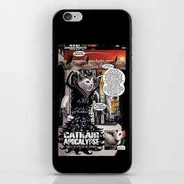 Cathair Apocalypse 01-01 iPhone Skin