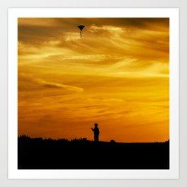 Kite I Art Print