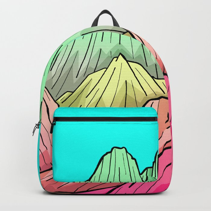 Candy Colour Mounts Backpack