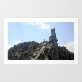 Yalta in the Crimea Art Print