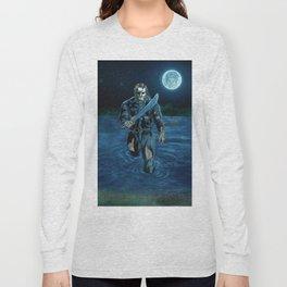 Hockey Masked Killer Long Sleeve T-shirt