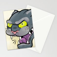 Panther Tattoo Flash Stationery Cards
