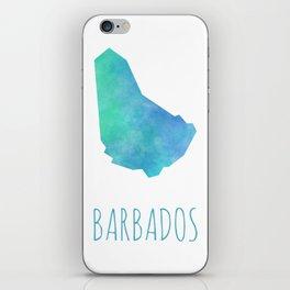 Barbados iPhone Skin