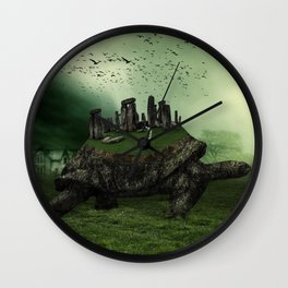 Druid Golf Wall Clock