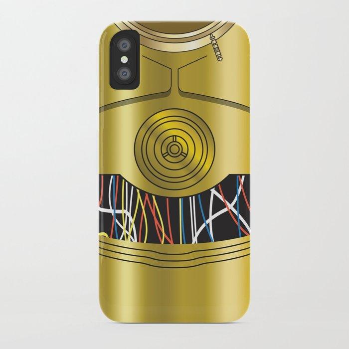 Star Wars C3PO Vector iPhone Case