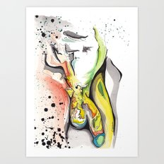 Banana Hammock Art Print
