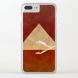Inside the Great Pyramid of Gi Clear iPhone Case