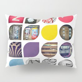 Cold Comfort Collage — The Streets Pillow Sham