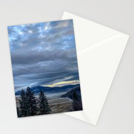 Sunset Valley Road Stationery Cards