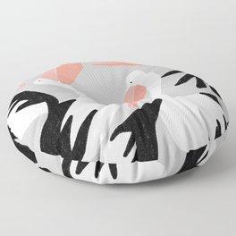 pelicans Floor Pillow