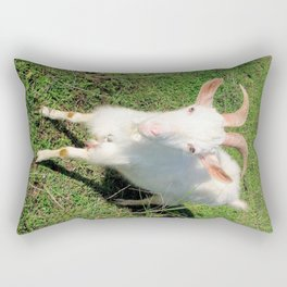 Billy 'The Goat' Rectangular Pillow