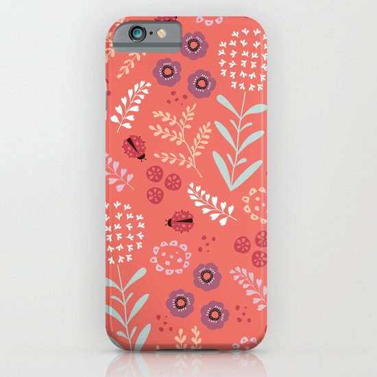 Little Ladybugs iPhone & iPod Case