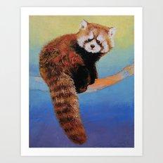 Cute Red Panda Art Print