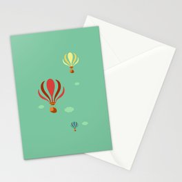 Hot Air Balloon Ride Stationery Cards