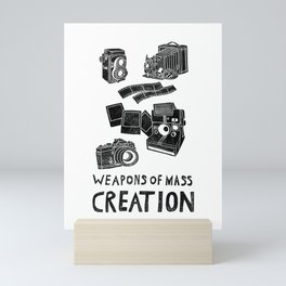Weapons Of Mass Creation - Photography (clean) Mini Art Print