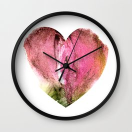 Ceren's Heart Shaped Box Wall Clock