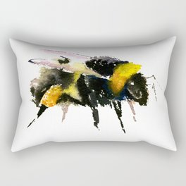 Bumblebee, bee art, bee design, minimalist bee honey Rectangular Pillow