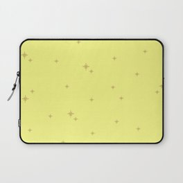 Yellow Starburst Pattern Laptop Sleeve