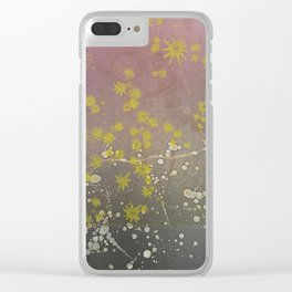 The Stars Outshine the Moon Clear iPhone Case