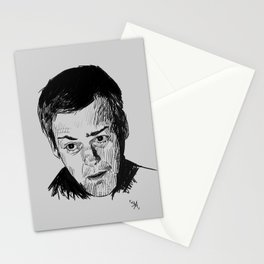 Greg Lestrade Sketch Stationery Cards