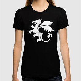 dragon - white T-shirt