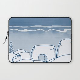In Paradise Labyrinth Andre Bloc Laptop Sleeve
