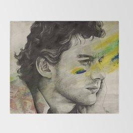 Rei Do Brasil: Tribute to Ayrton Senna da Silva Throw Blanket