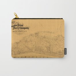 Map of Sausalito 1868 Carry-All Pouch