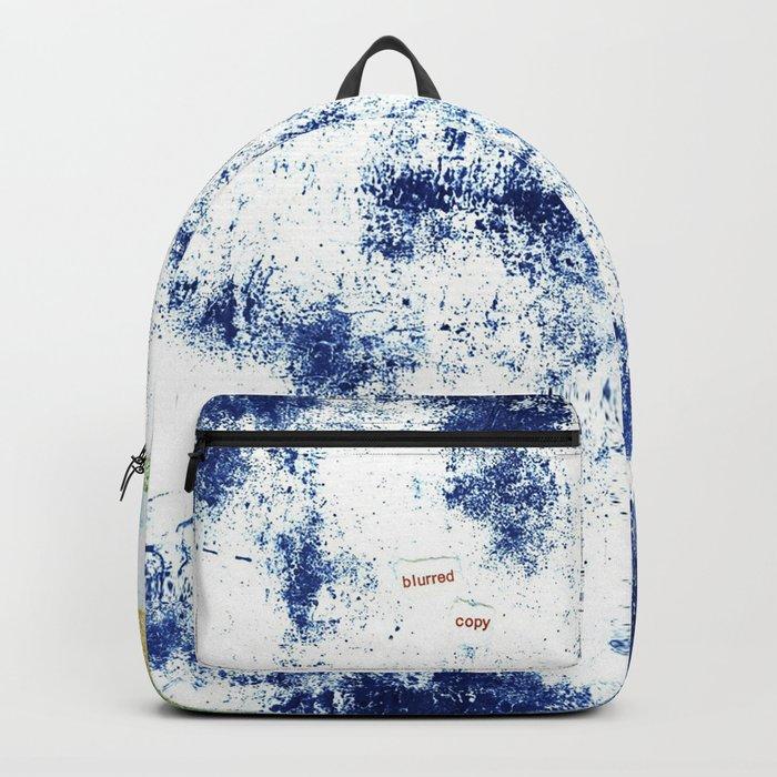 Blurred Copy Backpack