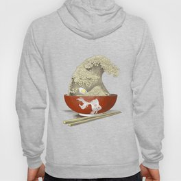 The Great Ramen Wave re-drawn Hoody
