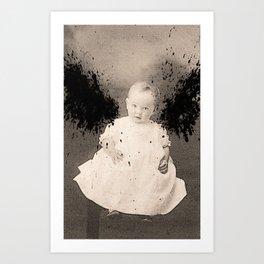 Our Little Angel Art Print