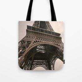eiffel tower--closeup Tote Bag