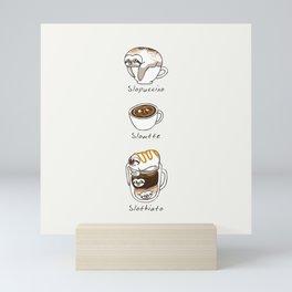 Slow Life Coffee Mini Art Print