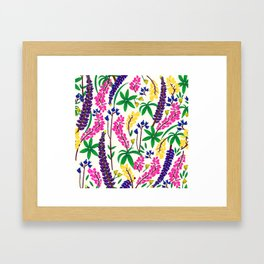 Lunips Framed Art Print