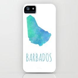 Barbados iPhone Case