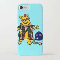 pooh iPhone & iPod Cases featuring Doctor Pooh by Murphis the Scurpix