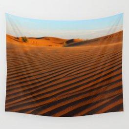 Golden Desert  Wall Tapestry