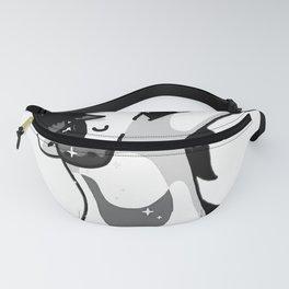 Dabbing Goth Unicorn Fun Gift Idea Design Fanny Pack