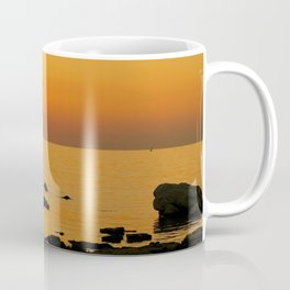 evening beach Coffee Mug