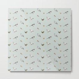 Garden birds Metal Print