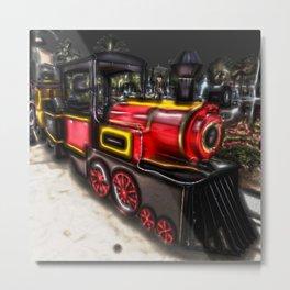 Choo Choo Train Metal Print
