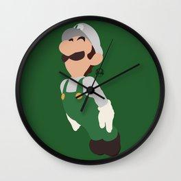 LUIGI(SMASH)FIRE Wall Clock