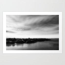In Stillness Art Print