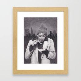 Tyrone Biggums, Dave Chappelle Framed Art Print