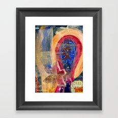 Collage Love - Nuren Framed Art Print