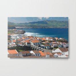 Sao Miguel island Metal Print